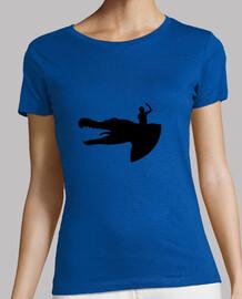 Camiseta Indominus Her azul