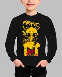 camiseta infantil - asesinato de la masa atómica