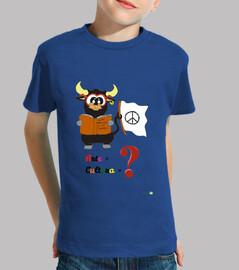Camiseta infantil antitaurina