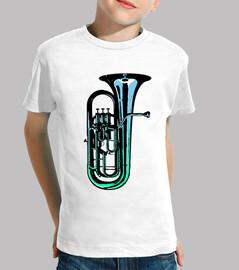 camiseta infantil Blue Euphonium