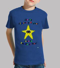 Camiseta infantil de Estrella de Mar