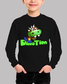 Camiseta Infantil Dino Tim