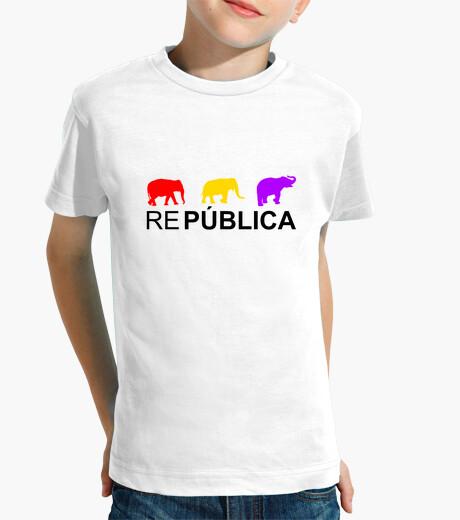 Ropa infantil Camiseta Infantil Elefantes República