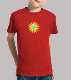 Camiseta infantil Girasol estrella