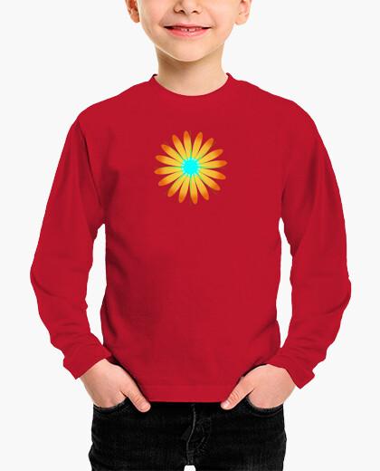 Ropa infantil Camiseta infantil Girasol estrella