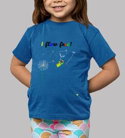 Camiseta infantil I flow free