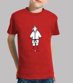 Camiseta infantil Judoka roja