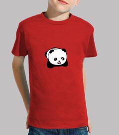 camiseta infantil kawaii panda