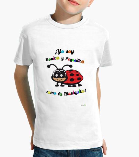 Ropa infantil Camiseta infantil modelo Mariquita