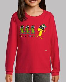 Camiseta infantil No soy un@ más