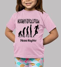 Camiseta infantil Rugby evolution