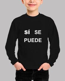 Camiseta Infantil Sí Se Puede