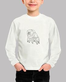 camiseta infantil tardigrade moss piglet