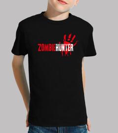 Camiseta infantil Zombie hunter