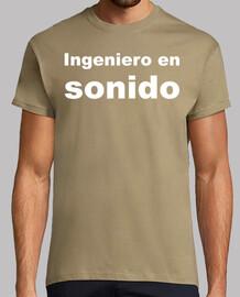 Camiseta Ingeniero de sonido