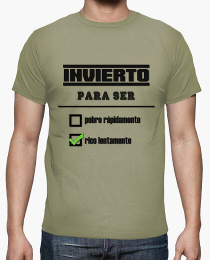 Camiseta Invierto