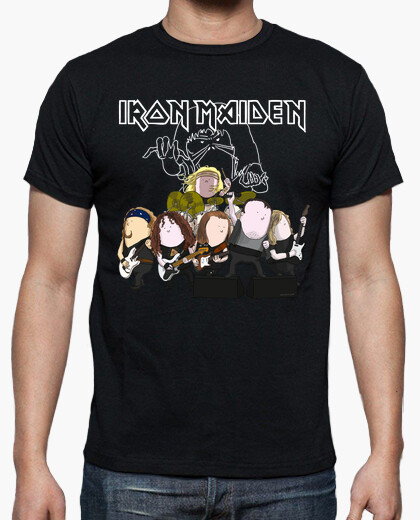 Camiseta Iron Maiden by Calvichi's (WEB)