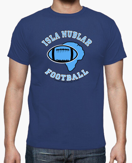 Camiseta Isla Nublar Football