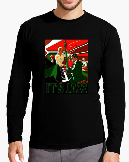 Camiseta It's Jazz (greened) CP1