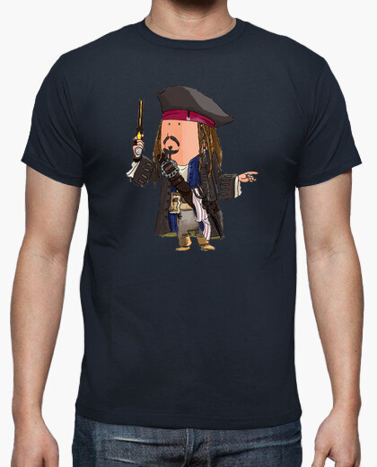 Camiseta Jack Sparrow by Calvichi's