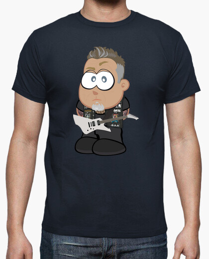 Camiseta James Hetfield de Metallica 2017