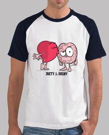 Camiseta JARTYBRENY Beso - Hombre