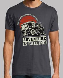 Camiseta Jeep Vintage Carrera