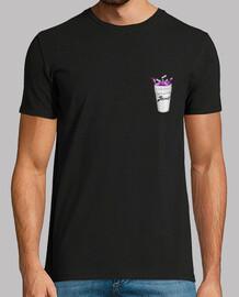Camiseta Jhonny escudo ''Hombre'' (Vaso Lean/ Purple drunk)   TRIPPIN