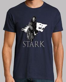 Camiseta Jon Nieve, hombre.