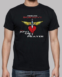 Camiseta Jovi On a Prayer Tributo a Bon Jovi Masculina