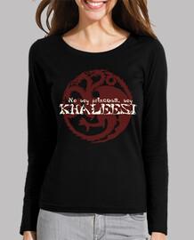 Camiseta Juego de Tronos. No soy princesa, soy KHALEESINo soy princesa, soy KHALEESI