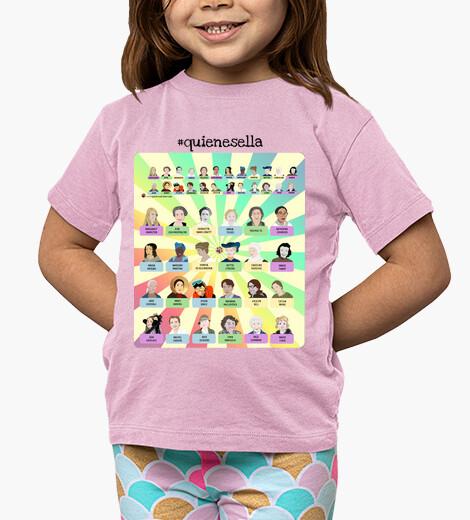 Ropa infantil Camiseta juego quienesella
