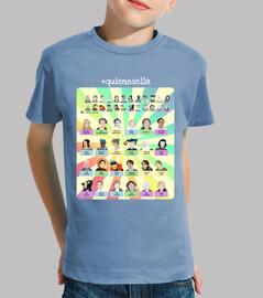 Camiseta juego quienesella