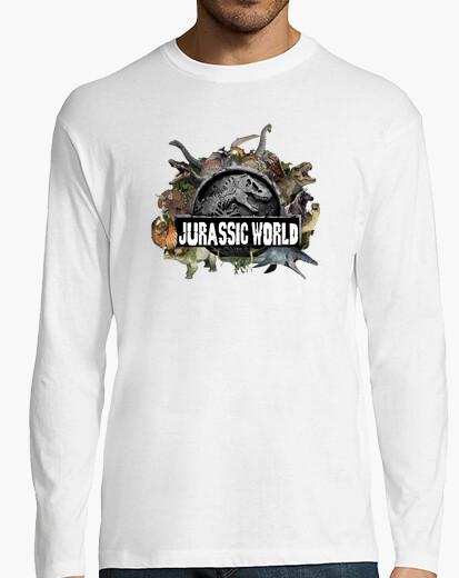 Camiseta Jurassic World Hombre Manga Larga