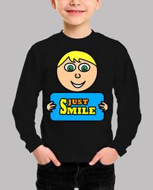 Camiseta Just Smile II (niño)