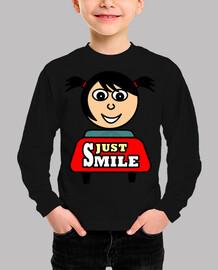 Camiseta Just Smile (niño)