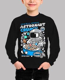 Camiseta Juvenil Cartoon Astronauta