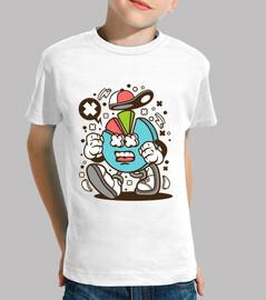 Camiseta Juvenil Gráfico Divertido Humor