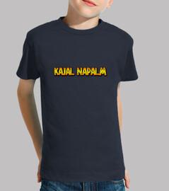 camiseta kajal napalm kind