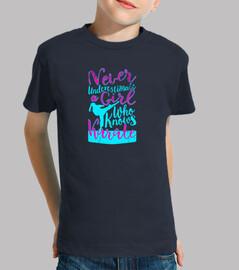 Camiseta Karate para Chica - Chica Karateka - Regalo para niñas