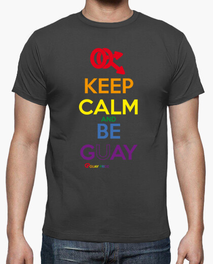 Camiseta Keep Calm and Be Gay
