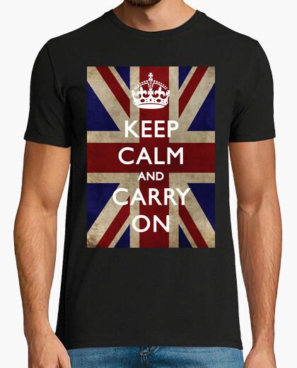 Camiseta Keep Calm and Carry On