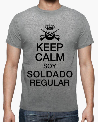 Camiseta Keep Calm Regular mod.1