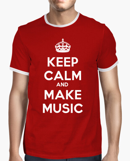 Camiseta KeepCalm Music 1 (Crown) CR1