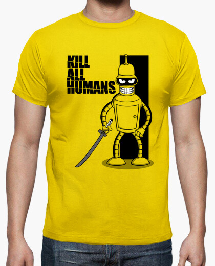 Camiseta Kill All Humans