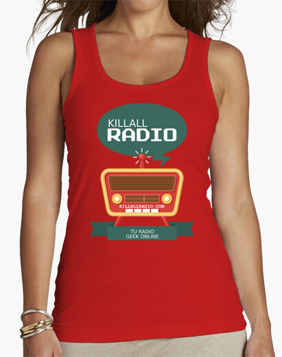 Camiseta Killall Radio