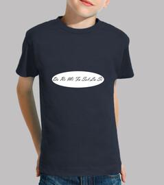 camiseta kind / a tonleiter