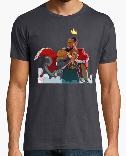 Camiseta King James Cavaliers