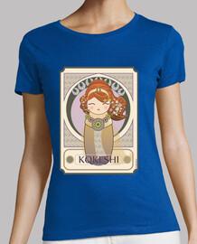Camiseta Kokeshi A. Mucha