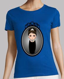 Camiseta Kokeshi Audrey Hepburn